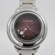 Citizen Steel 32mm EW5529-55W pre-owned