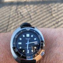 Seiko Prospex Steel 45mm Black No numerals United Kingdom, Caerphilly