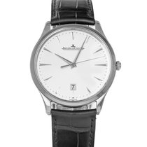 Jaeger-LeCoultre Master Ultra Thin Date Stahl 40mm Silber Keine Ziffern