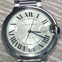 Cartier Ballon Bleu 42mm Acier 42mm Argent Romains Belgique, Brasschaat