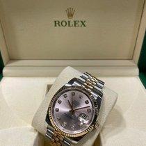 Rolex Datejust Or/Acier 36mm Rose