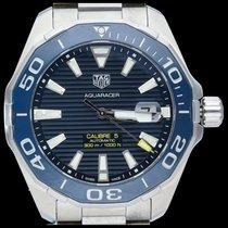 TAG Heuer Aquaracer 300M occasion 43mm Bleu Date Acier