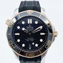 Omega Seamaster Diver 300 M Or/Acier 42mm Noir Sans chiffres France, Paris