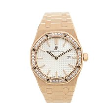 Audemars Piguet Royal Oak Lady Rose gold 33mm Silver No numerals United States of America, New York, New York