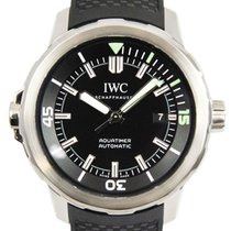 IWC Aquatimer Automatic usados 42mm Negro Fecha Caucho