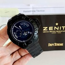 Zenith Titanio Automático Negro 43mm usados Defy