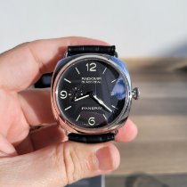 Panerai Radiomir Black Seal 3 Days Automatic Acero 45mm Negro Arábigos