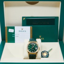 Rolex Day-Date 36 Yellow gold 36mm Green No numerals United States of America, California, Los Angeles