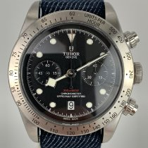 Tudor 79350 Steel 2019 Black Bay Chrono 41mm pre-owned