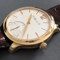 H.Moser & Cie. Endeavour Oro rosa 39mm Plata Romanos