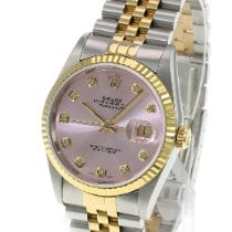 Rolex Datejust Or/Acier 36mm Rose