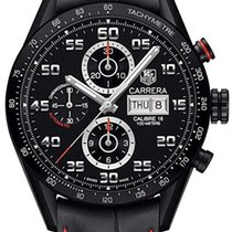 TAG Heuer Carrera Calibre 16 new 2019 Automatic Chronograph Watch with original box CV2A81.FC6237