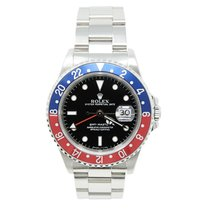 Rolex 16700 Steel 2000 GMT-Master 40mm pre-owned United States of America, California, Los Angeles