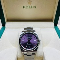 Rolex Oyster Perpetual 39 Steel 39mm Purple No numerals United States of America, Florida, West Palm Beach