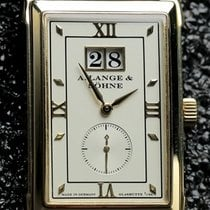 A. Lange & Söhne Yellow gold Silver pre-owned Cabaret