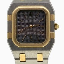 Audemars Piguet Royal Oak Lady Gold/Steel 24.5mm Grey No numerals Australia