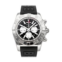 Breitling Chronomat GMT Steel 47mm Black No numerals United States of America, Pennsylvania, Bala Cynwyd