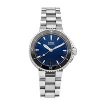 Oris Aquis Date Steel 36mm Blue No numerals United States of America, Pennsylvania, Bala Cynwyd
