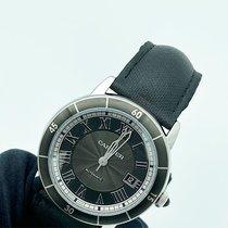 Cartier Ronde Croisière de Cartier occasion 42mm Gris Date Cuir