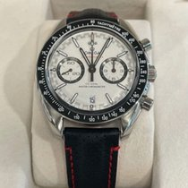 Omega Speedmaster Racing Acero 44.25mm Blanco Sin cifras
