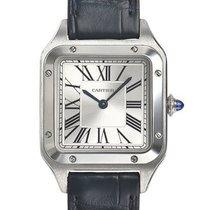 Cartier Santos Dumont new 2021 Quartz Watch with original box and original papers WSSA0023