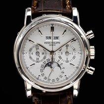 Patek Philippe Perpetual Calendar Chronograph Or blanc 36mm