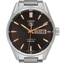 TAG Heuer Carrera Calibre 5 Steel 41mm Black United States of America, Georgia, Atlanta