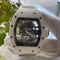 Richard Mille RM 055 Keramik 49.9mm Transparent Keine Ziffern