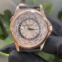 百達翡麗 World Time 玫瑰金 39.5mm 銀色 無數字 香港