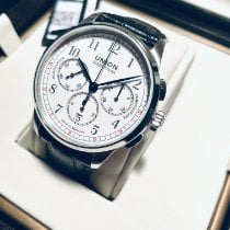Union Glashütte 1893 Steel 42mm White Arabic numerals