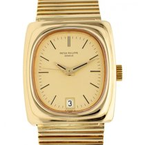 Patek Philippe Beta 21 Yellow gold 33mm Gold No numerals