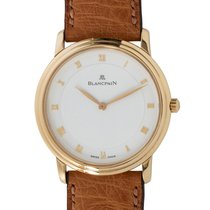 Blancpain Automatic White Roman numerals 34mm pre-owned