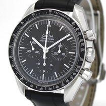 Omega Speedmaster Professional Moonwatch Ocel 42mm Černá Bez čísel
