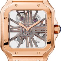 Cartier Santos (submodel) Rose gold Transparent United States of America, Georgia, Alpharetta