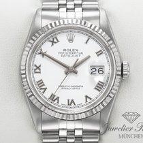 Rolex Lady-Datejust Zlato/Ocel 36mm Bílá Římské