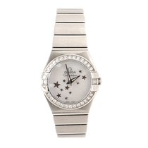 Omega N/A Steel Constellation Quartz 25mm pre-owned United States of America, New York, New York