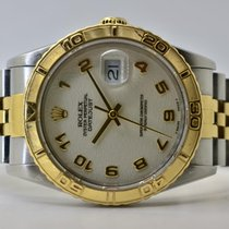 Rolex Datejust Turn-O-Graph Gold/Stahl 36mm Weiß Keine Ziffern Deutschland, Iffezheim
