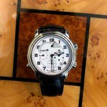Blancpain Léman Réveil GMT Steel 40mm White United States of America, Michigan, Farmington Hills