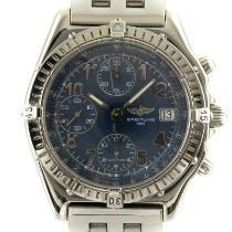 Breitling Chronomat Steel 39.5mm Blue