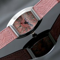 Franck Muller Conquistador Steel 33mm Pink No numerals United Kingdom, Oxford