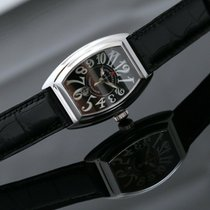 Franck Muller Conquistador 8005 L SC New Steel 33mm Automatic