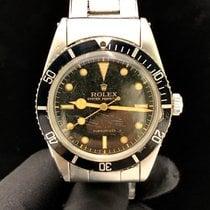 Rolex Submariner (No Date) Çelik Siyah Rakamsız