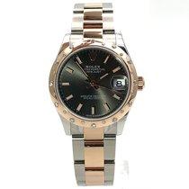 Rolex Datejust 278341RBR Ongedragen Goud/Staal 31mm Automatisch