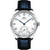 IWC Portuguese Automatic Steel 40.4mm Silver Arabic numerals