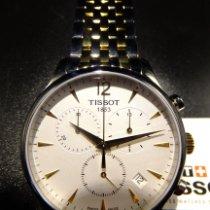 Tissot Tradition Stahl 42mm Weiß Arabisch Deutschland, Billerbeck