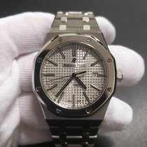 Audemars Piguet Royal Oak Selfwinding 15403IP.OO.1220IP.01 Mycket bra Titan 41mm Automatisk