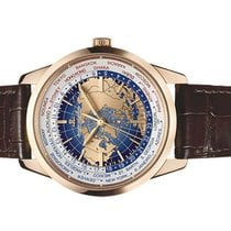 Jaeger-LeCoultre Geophysic Universal Time Oro rosa 41.6mm Azul Arábigos