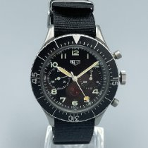 Heuer Steel 43mm Black Arabic numerals United States of America, New York, Westchester County