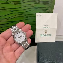 Rolex Air King Precision Acier 34mm Blanc Sans chiffres France, Paris