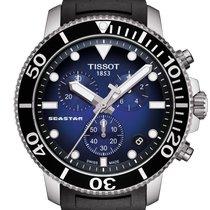 Tissot T1204171704100 Stahl Seastar 1000 45.5mm neu